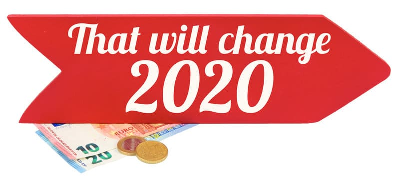 tax law changes 2020 flag